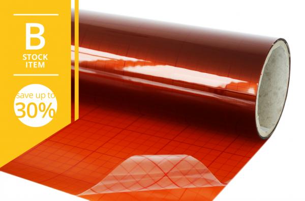 B-Ware: Lithoprotect® UV-Schutz Gelbfolie selbstklebend